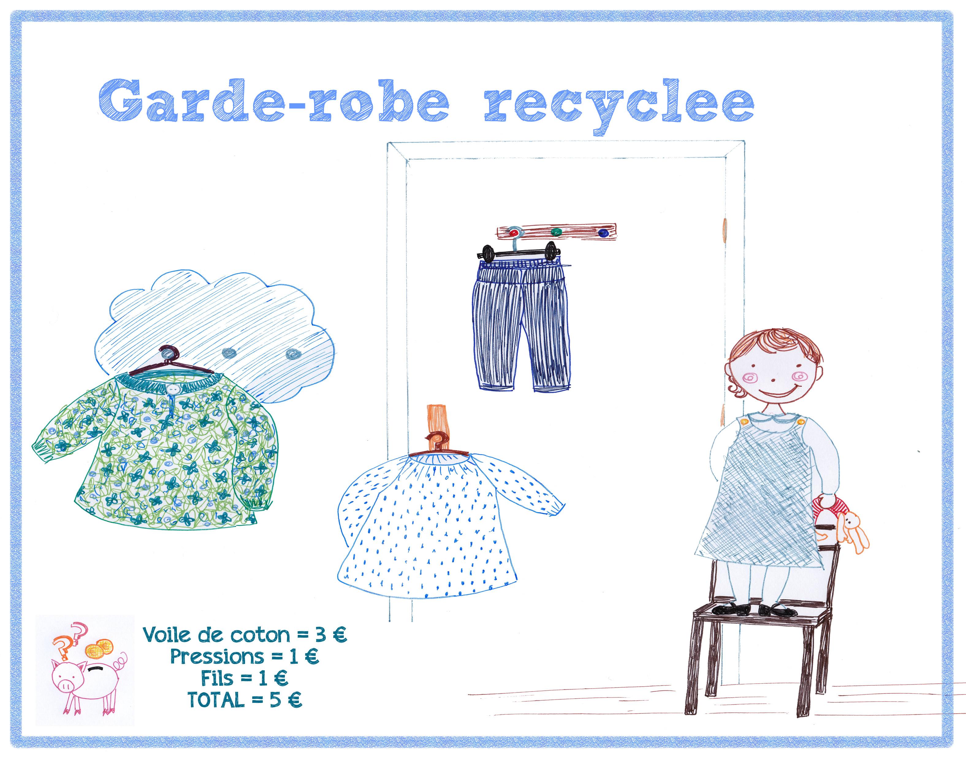 garde robe recyclée