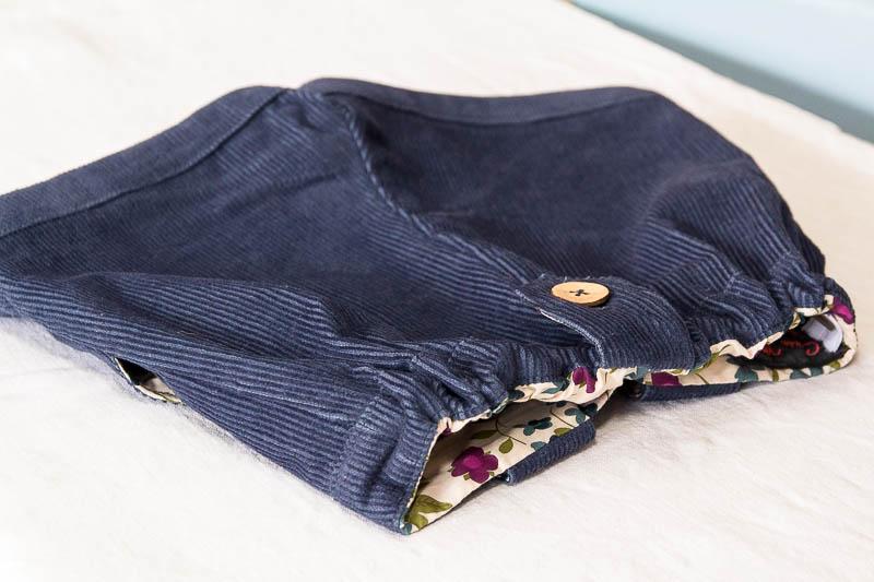 Shorts bleu vert-72
