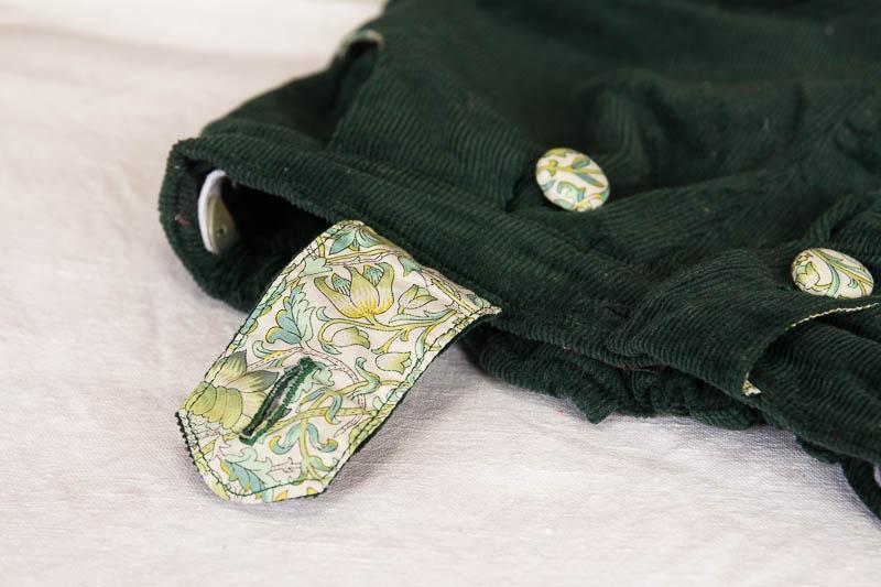 Shorts bleu vert-88